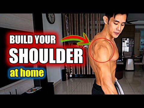 Build Your Shoulder At Home